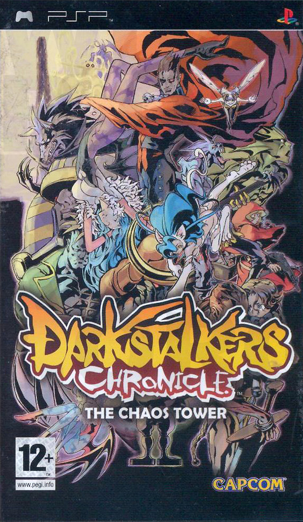 DarkStalkers Chronicles The Chaos Tower (Recto) sur PlayStation Portable (PSP)