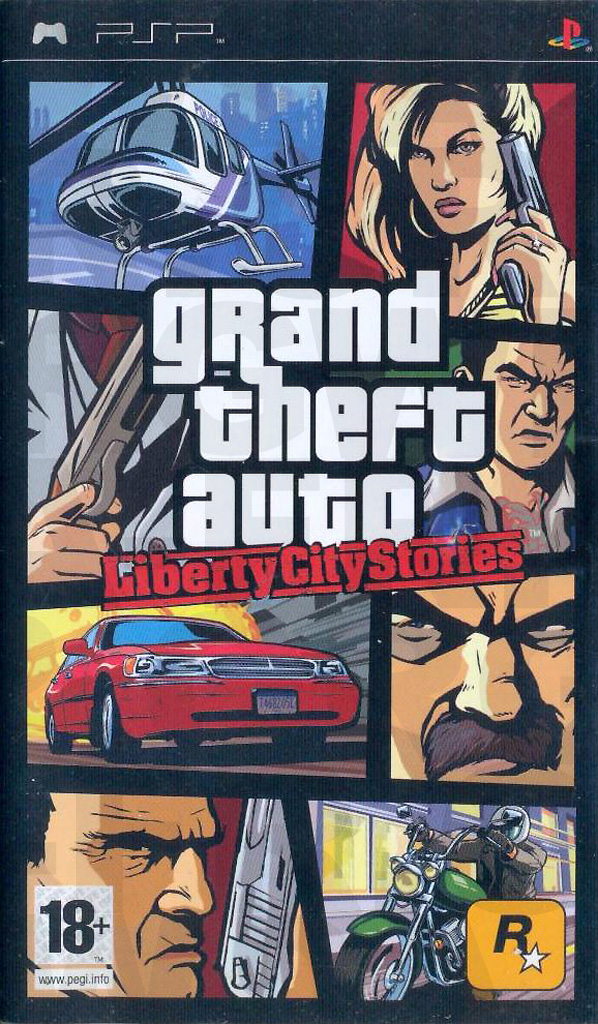 Grand Theft Auto Liberty City Stories (Recto) sur PlayStation Portable