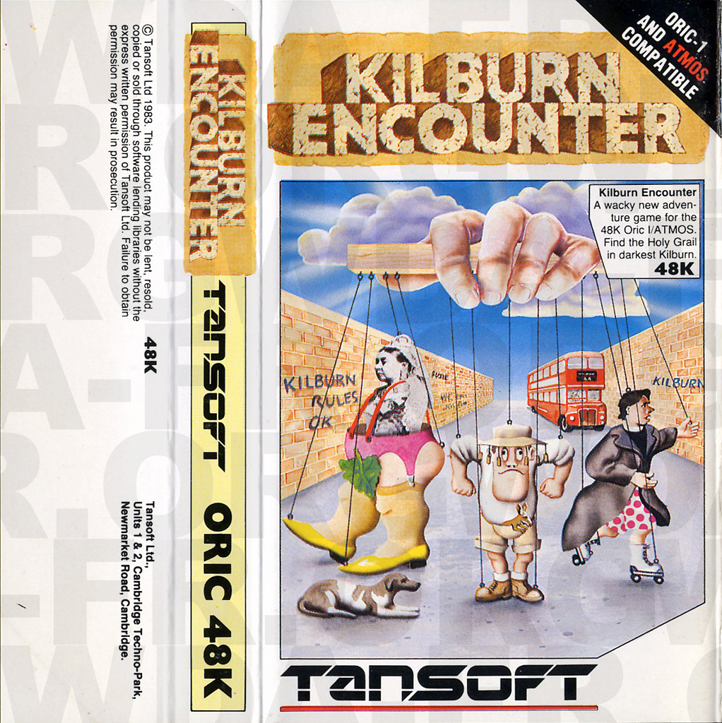 KILBURN ENCOUNTER (Recto) sur Oric 1 / Atmos