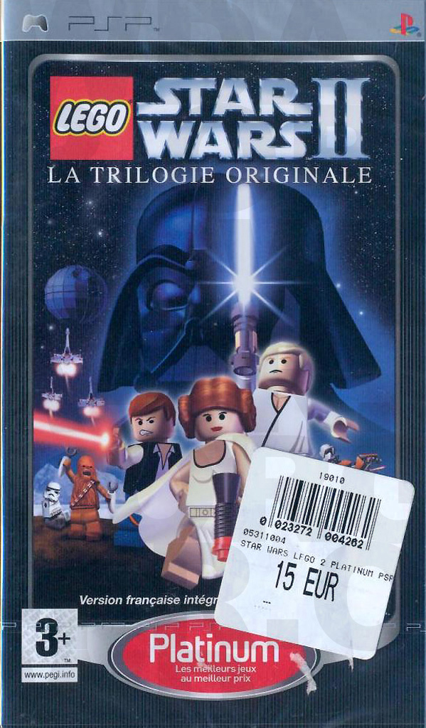 LEGO Star Wars II La trilogie originale sur PlayStation Portable (PSP)