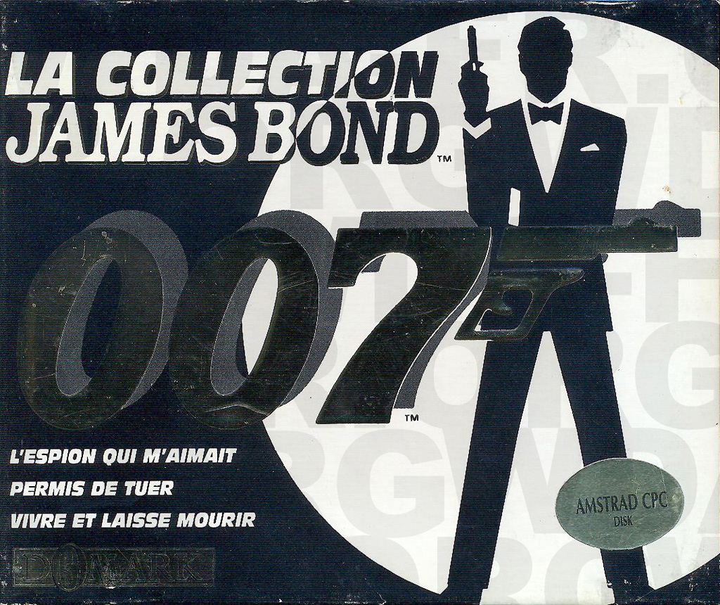 La collection James Bond 007 (Recto) sur Amstrad CPC