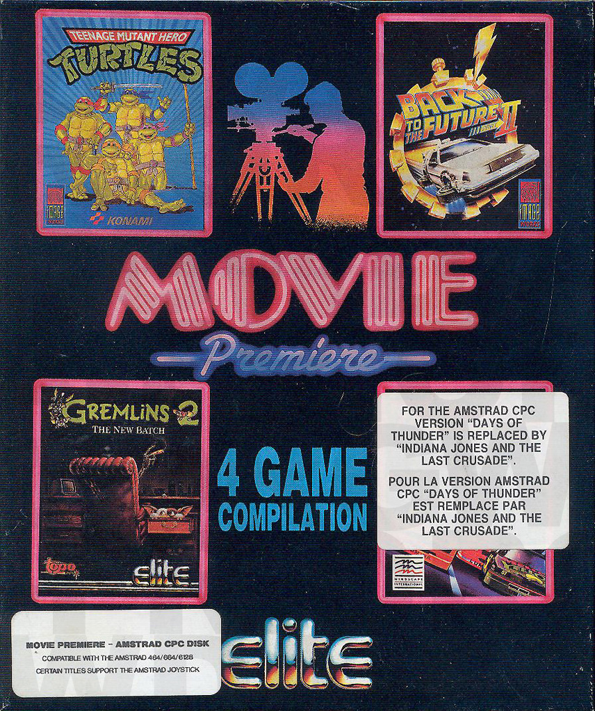 Movie Premiere sur Amstrad CPC