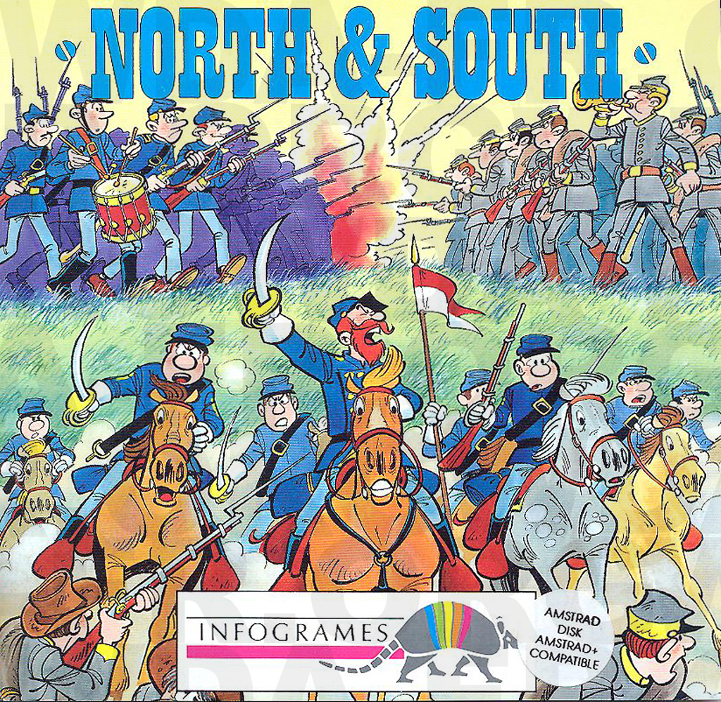 North and South sur Amstrad CPC
